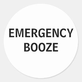 Emergency Booze stickers