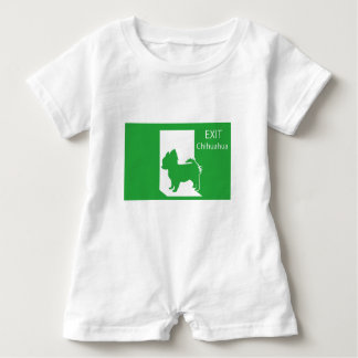 Emergency exit chihuahua T shirt