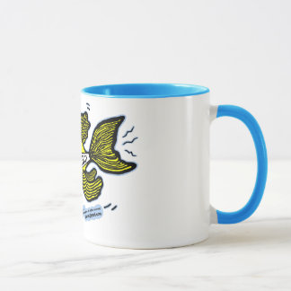 Emergency Fish with Blue Light Mug
