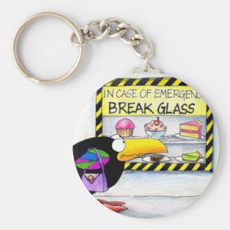 Emergency keychain