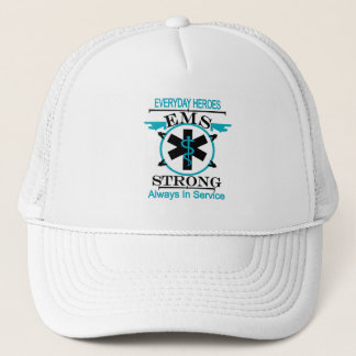 Emergency Medical Service Week Honoring EMS Worker Trucker Hat