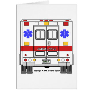 Emergency Medical Services Ambulance (EMS) Card