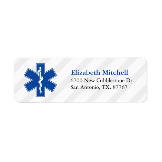 Emergency Medical Services Return Address Label