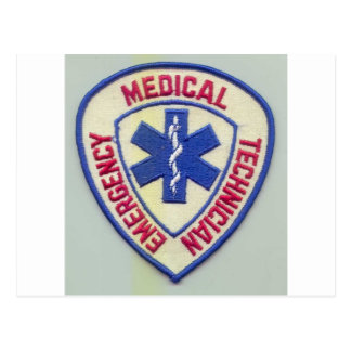 EMERGENCY MEDICAL TECHNICIAN EMT POSTCARD