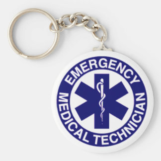 EMERGENCY MEDICAL TECHNICIANS EMT KEYCHAIN