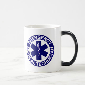 EMERGENCY MEDICAL TECHNICIANS EMT MORPHING MUG