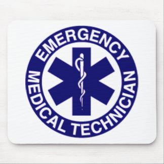EMERGENCY MEDICAL TECHNICIANS EMT MOUSE PAD