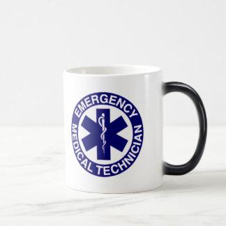 EMERGENCY MEDICAL TECHNICIANS EMT 11 OZ MAGIC HEAT Color-Changing COFFEE MUG