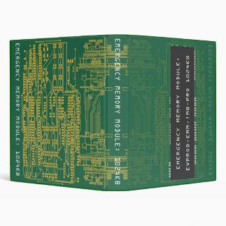 Emergency Memory Module: 1024KB Vinyl Binder