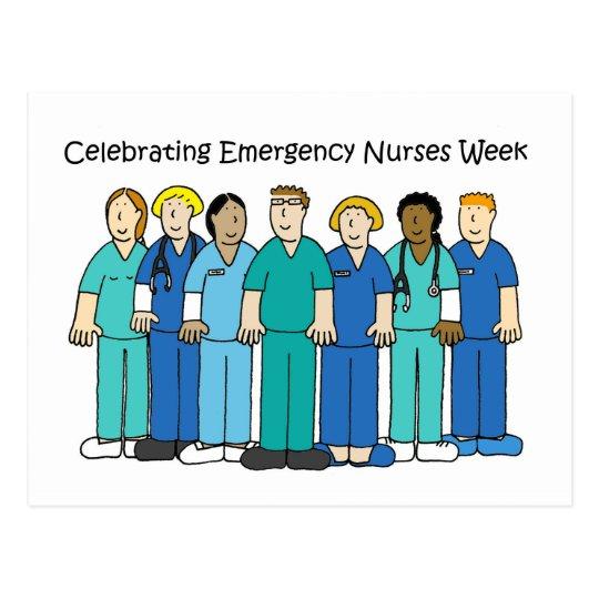Emergency Nurses Week Postcard