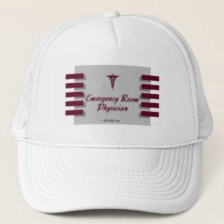 Emergency Room DocGray Trucker Hat