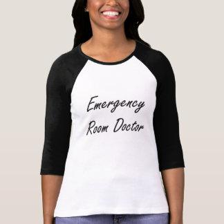 Emergency Room Doctor Artistic Job Design Shirts