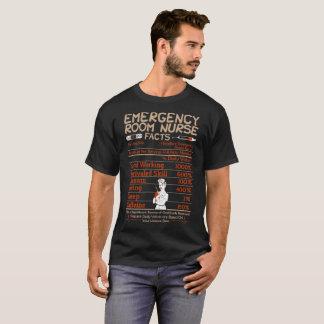 Emergency Room Nurse Facts Tshirt