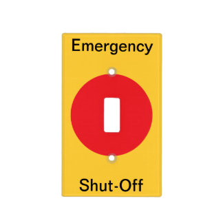 Emergency Shut Off Switch Cover