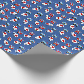 Emergency Vehicle | Fire | Police | EMT Wrapping Paper