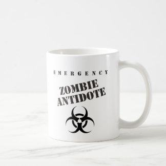 Emergency Zombie Antidote Coffee Mug