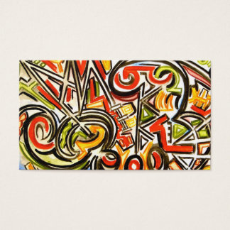 Emerging Butterfly-Hand Painted Abstract Art Business Card