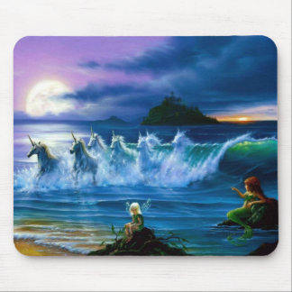 Emerging From The Sea Of Dreams Mouse Pad