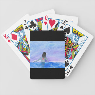 Emerging From The Water Bicycle Playing Cards