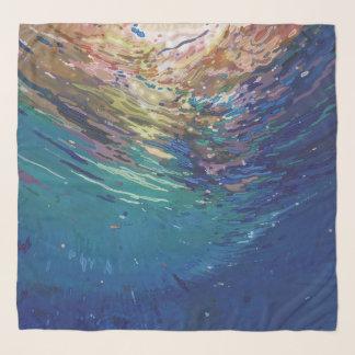 Emerging from Underwater Scarf by Margaret Juul