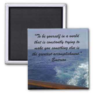 Emerson:  Be Yourself Magnet