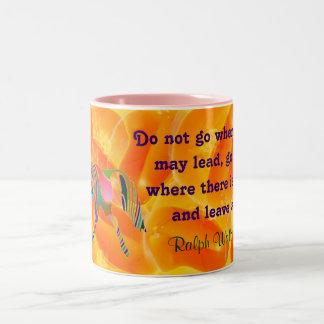 Emerson quote mug