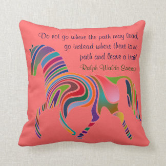 Emerson quote pillow