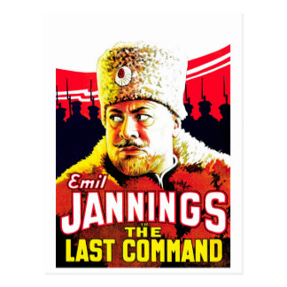 Emil Jannings - The Last Command Postcard
