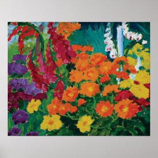 Emil Nolde - Garden of Flowers Fine Art Poster