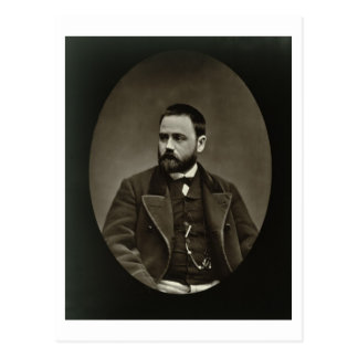 Emile Zola (1840-1902) from 'Galerie Contemporaine Postcard