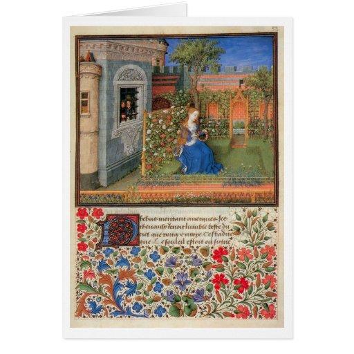 Emilia dans le rosegarden carte