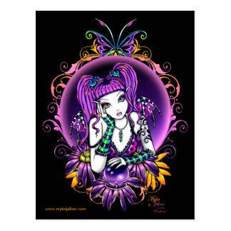 Emilicous Rainbow Fairy Postcard