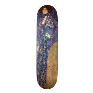 Emilie Floege, 1902 Skateboard