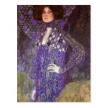 Emilie Floege by: Gustav Klimt Postcard