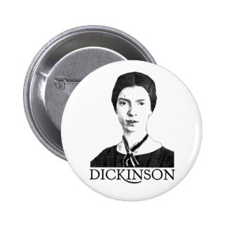 Emily Dickinson 2 Inch Round Button