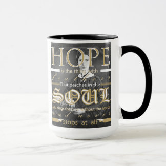 Emily Dickinson Hope Mug