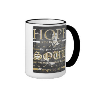 Emily Dickinson Hope Mug