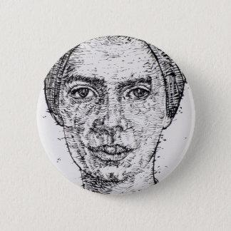 emily dickinson portrait 2 inch round button