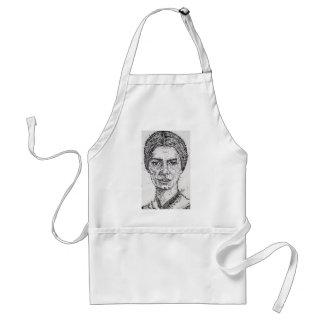 emily dickinson portrait standard apron