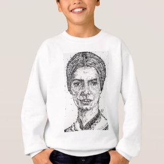 emily dickinson portrait sweatshirt
