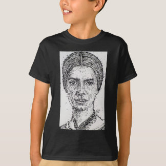 emily dickinson portrait T-Shirt