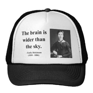 Emily Dickinson Quote 3b Trucker Hat