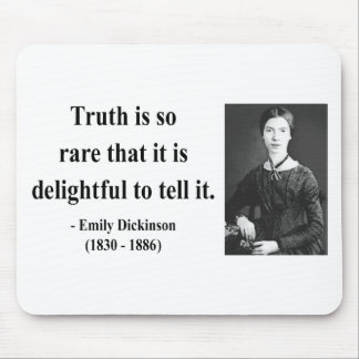Emily Dickinson Quote 7b Mouse Pad