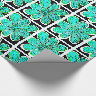 Emily (Green) Gift Wrapping Paper