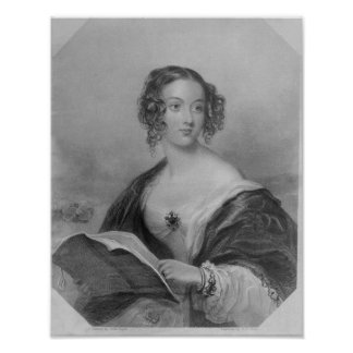 Emily Mary, Countess Cowper Poster