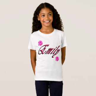 Emily, Name, Logo, T-Shirt