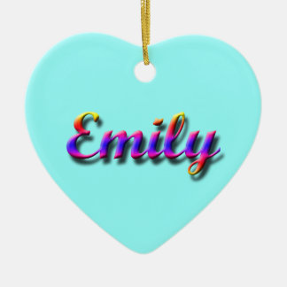 Emily_Name Ornament