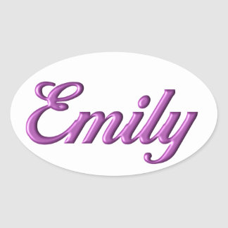 Emily sticker name