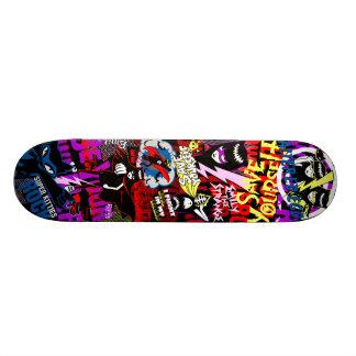 Emily the Strange Be Your Own Hero Custom Skate Board