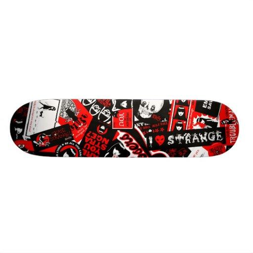 Emily the Strange Skateboard